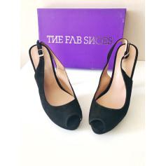 Escarpins à bouts ouverts The Fab Shoes  pas cher