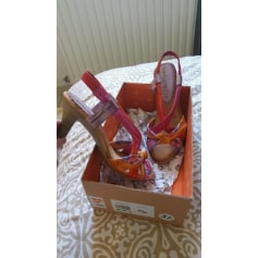 Sandales à talons Bertuchi  pas cher