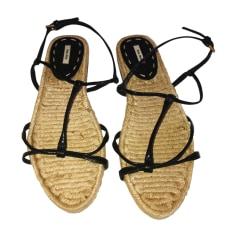 Sandales plates  Miu Miu  pas cher