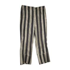 Pantalon large John Galliano  pas cher
