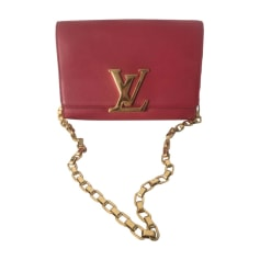 Leather Clutch Louis Vuitton Louise