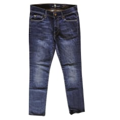 Jeans droit 7 For All Mankind  pas cher