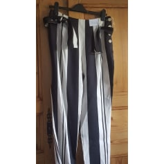 Pantalon évasé Topshop  pas cher
