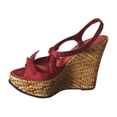 Sandales à talons Dolce & Gabbana  pas cher