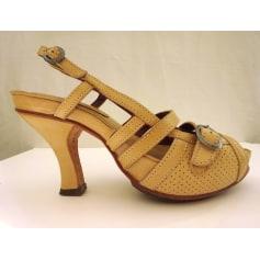 Sandales compensées Neosens  pas cher