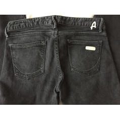 Jeans slim Aquaverde  pas cher