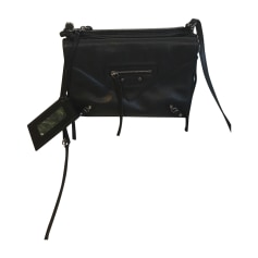 Leather Shoulder Bag Balenciaga Papier