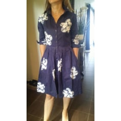 Robe mi-longue Samantha Sung  pas cher