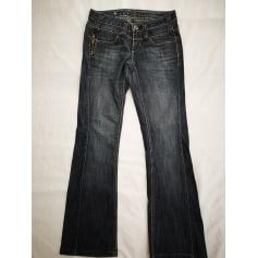 Jeans évasé, boot-cut Bonobo  pas cher