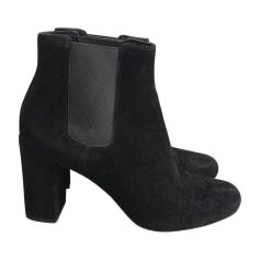 Bottines & low boots à talons Saint Laurent  pas cher