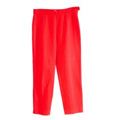 Pantalon droit Chacok  pas cher