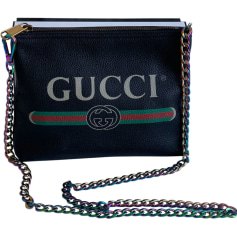 Sac pochette en cuir Gucci  pas cher