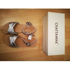 Sandales plates  Chattawak  pas cher