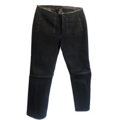 Jeans très evasé, patte d'éléphant Marithé et François Girbaud  pas cher