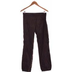 Pantalon droit Sisley  pas cher