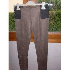 Pantalon slim, cigarette Why Not  pas cher