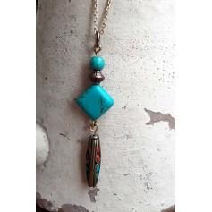 Pendentif, collier pendentif artisanat  pas cher