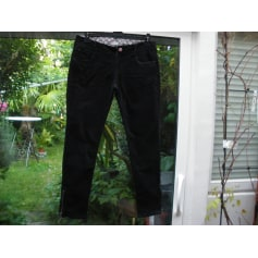 Pantalon slim, cigarette Denim Rules By TRF  pas cher