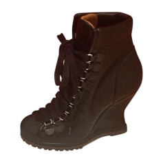 Bottines & low boots à compensés Chloé  pas cher