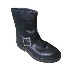 Bottines & low boots motards Dr. Martens  pas cher