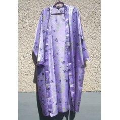 Robe de chambre Bleu Bonheur  pas cher