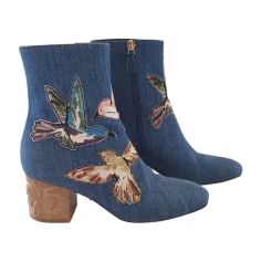 Bottines & low boots à talons Red Valentino  pas cher