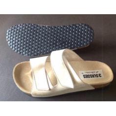 Sandales plates  3 Suisses  pas cher