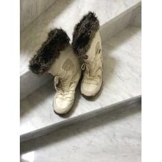 Bottines & low boots plates Esprit  pas cher