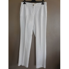 Pantalon droit Elena Miro  pas cher