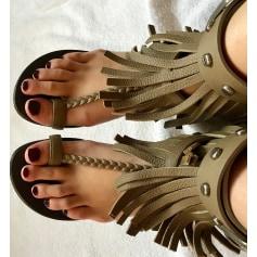 Sandales plates  Giuseppe Zanotti  pas cher