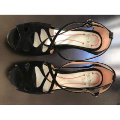 Sandales compensées Ann Tuil  pas cher