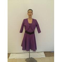 Robe courte Vera Mont  pas cher