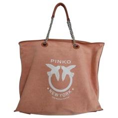 Sac XL en tissu Pinko  pas cher