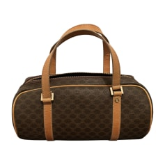 Lederhandtasche Céline Triomphe