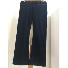 Pantalon droit Karl Lagerfeld  pas cher