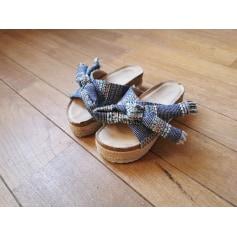 Sandales compensées Cassis  pas cher