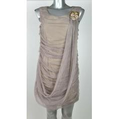 Robe courte Cristina Gavioli  pas cher
