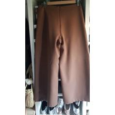 Pantalon très evasé, patte d'éléphant   pas cher