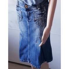 Jupe mi-longue Pepe Jeans  pas cher