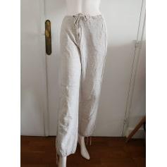 Pantalon carotte Camaieu  pas cher