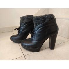 Santiags, bottines, low boots cowboy Calvin Klein  pas cher
