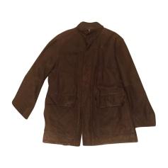 Leather Coat Façonnable