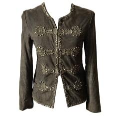 Veste en cuir Antik Batik  pas cher