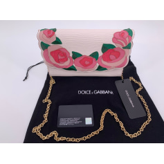 Sac pochette en cuir Dolce & Gabbana  pas cher