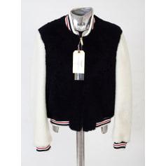 Leather Coat Thom Browne