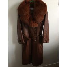 Manteau en cuir Claude Gilbert  pas cher