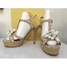 Sandales à talons Castaner  pas cher