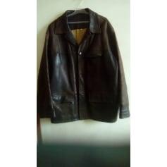 Manteau en cuir Devred  pas cher