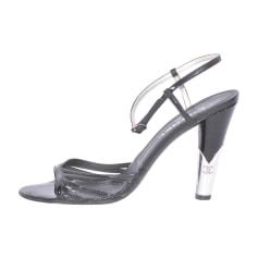 Sandales à talons Chanel  pas cher