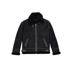 Leather Zipped Jacket The Kooples